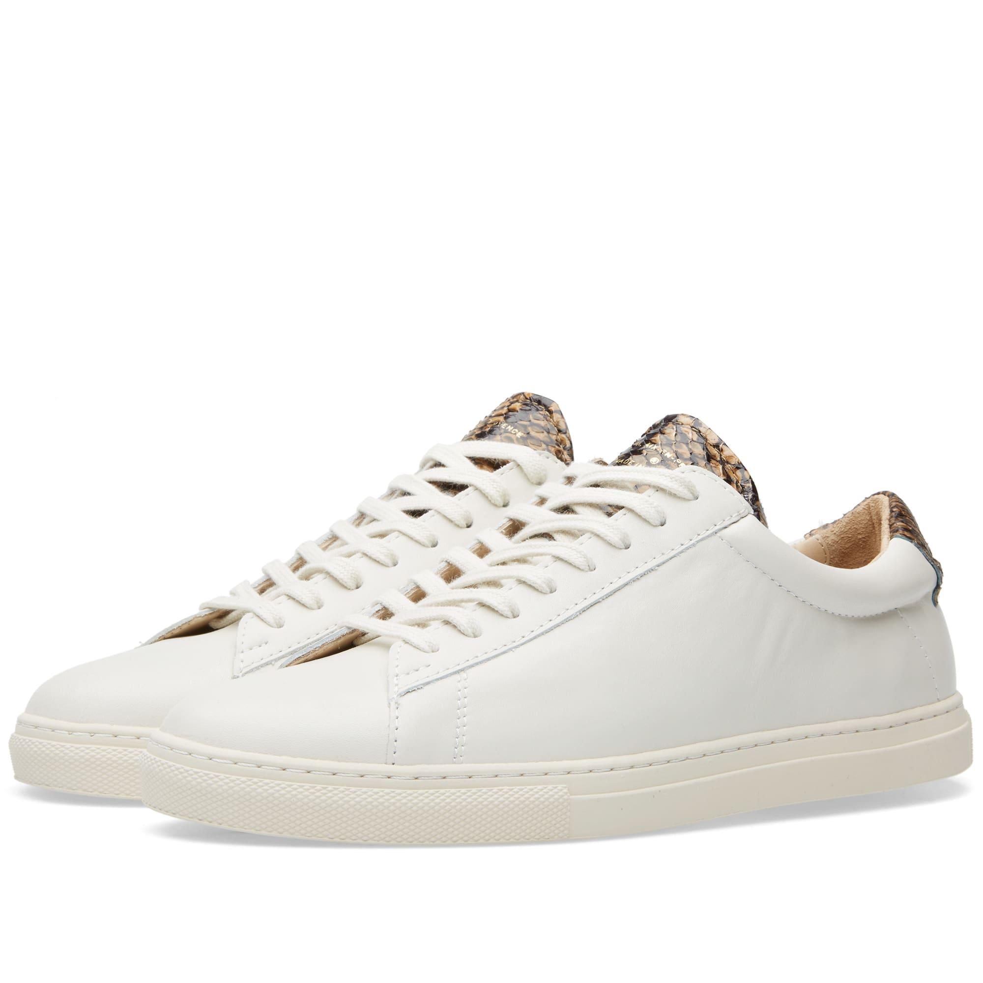 5c8ae25819c633 Zespa ZSP4 Sneaker Off White Nappa & Snake | END.