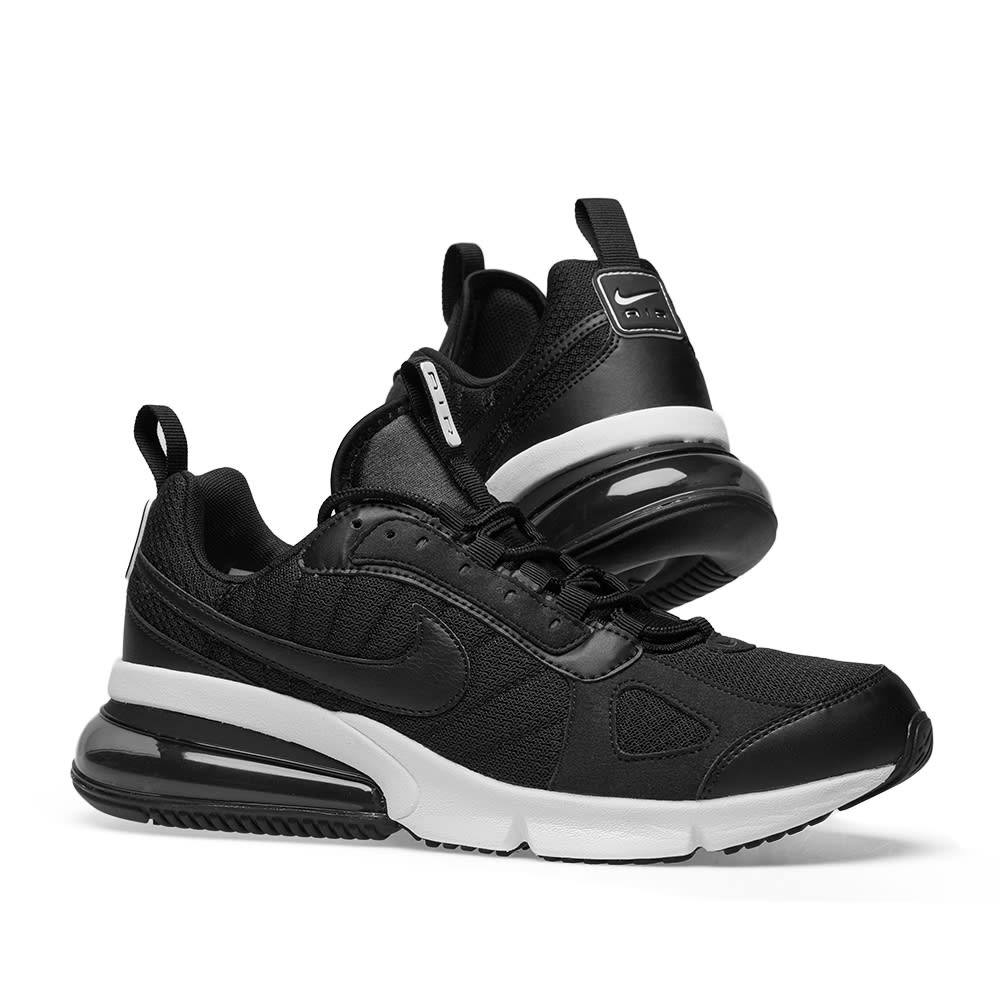 Off White x Nike Air Max 270 Futura Black White