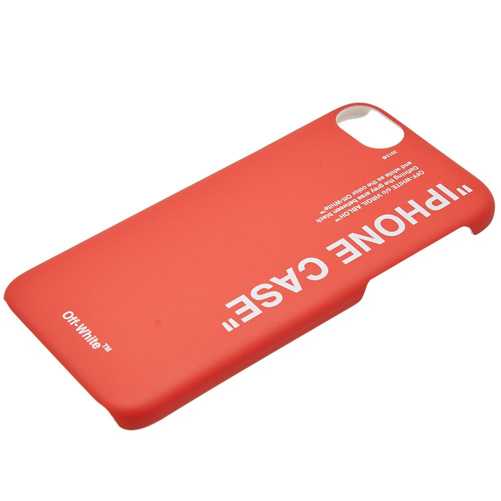 reputable site 6106d d9eda Off-White Quote iPhone 8 Case