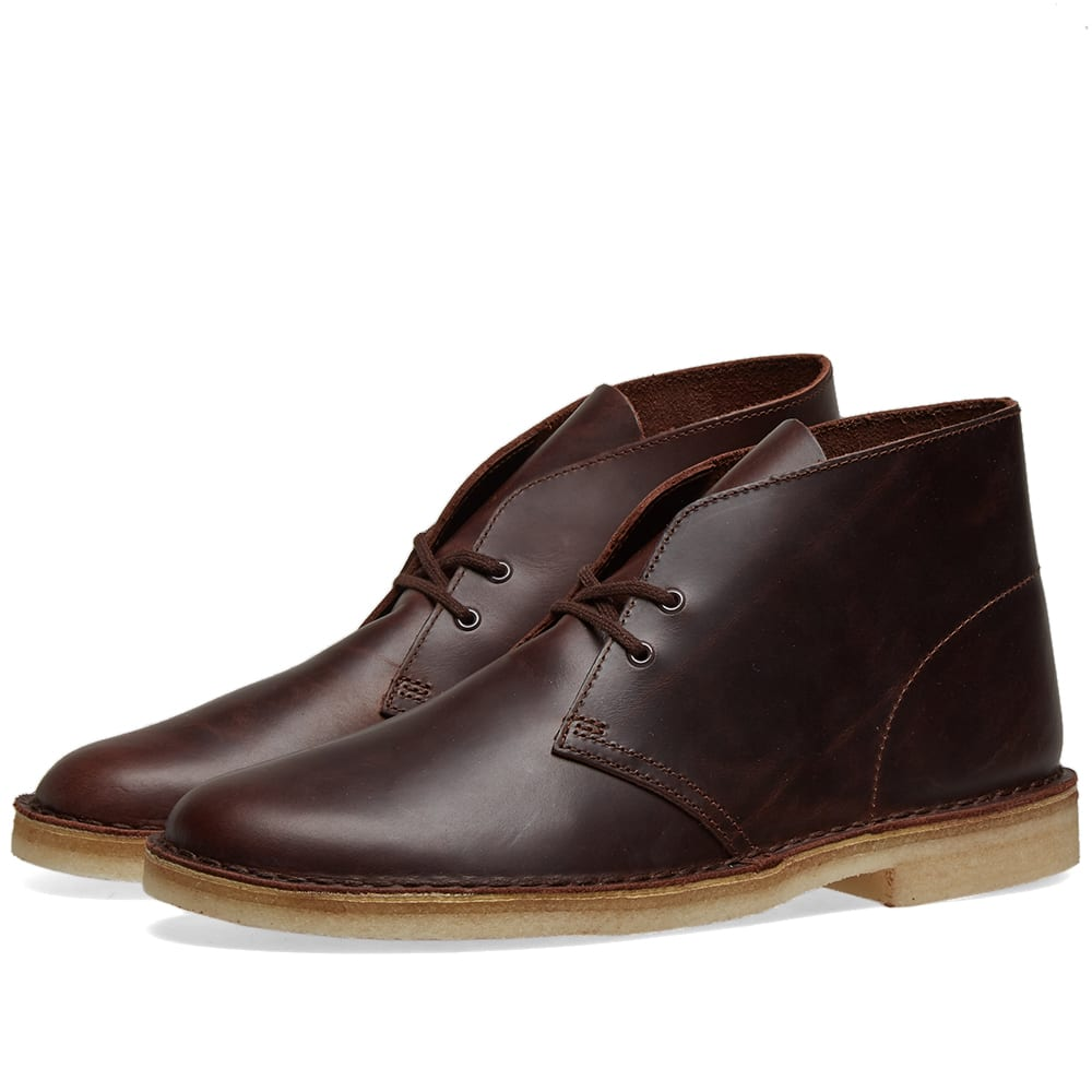 Ostentoso idea Diálogo  Clarks Originals Desert Boot Chestnut Leather | END.