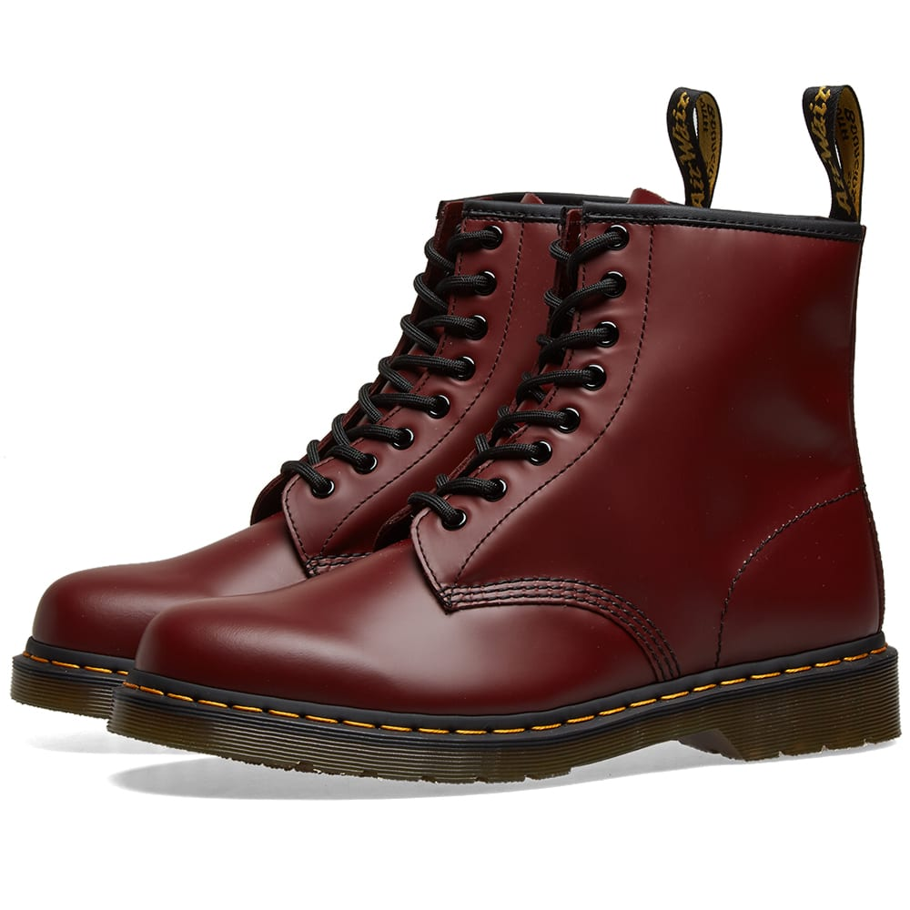 dr martens cherry red