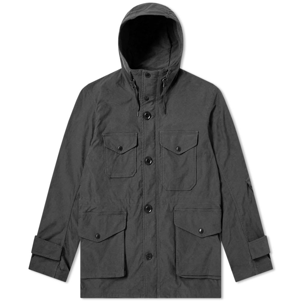 NANAMICA Nanamica Polyester Nylon Stretch Cruiser Jacket in Grey