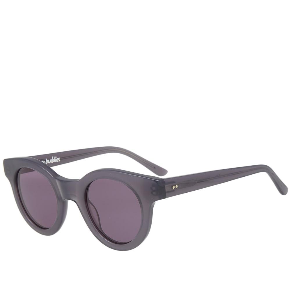 SUN BUDDIES Sun Buddies Edie Sunglasses in Grey