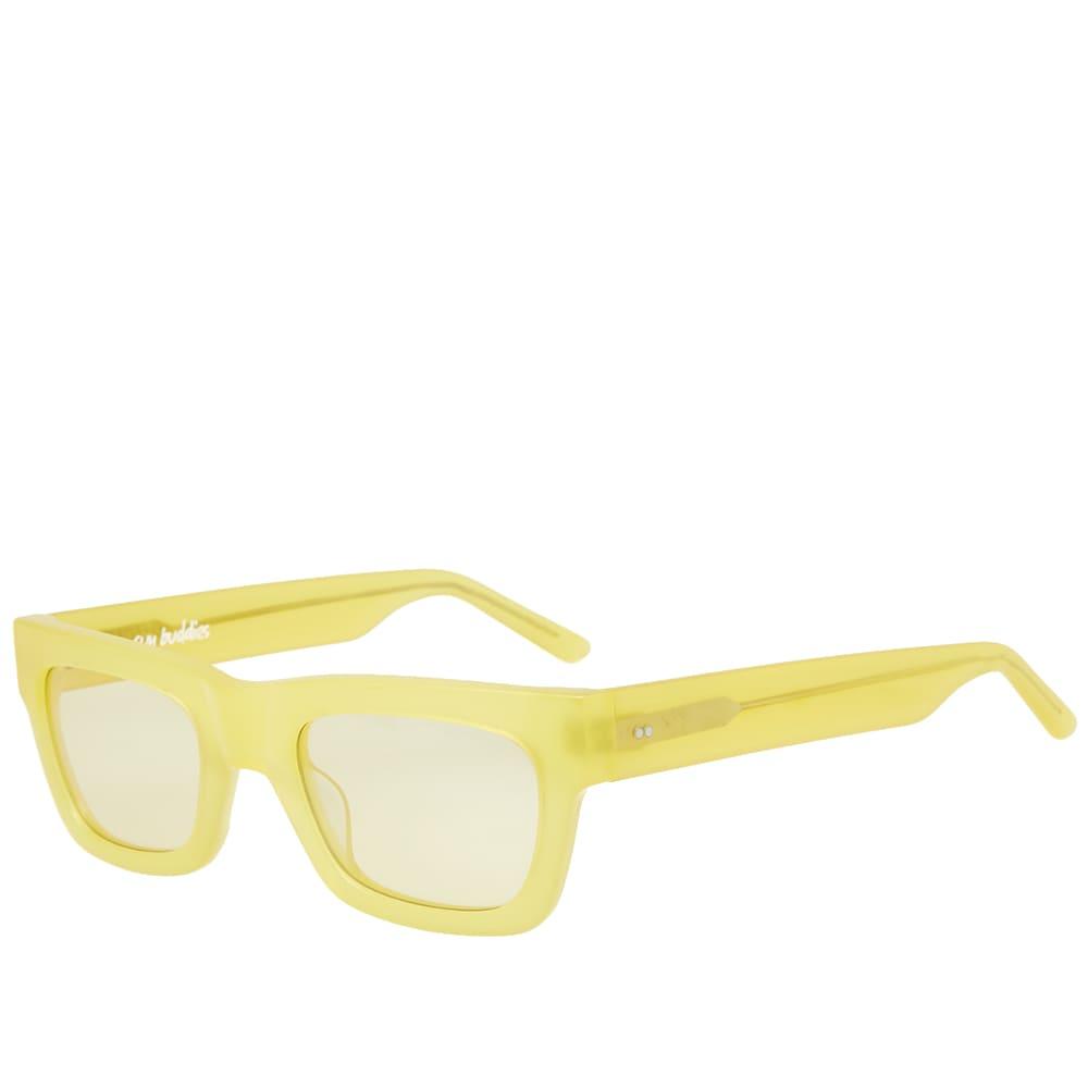 SUN BUDDIES Sun Buddies Greta Sunglasses in Yellow