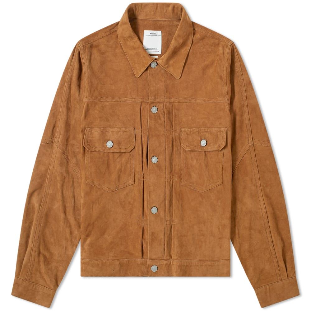 Visvim Jackets Visvim 101 Italian Suede Jacket