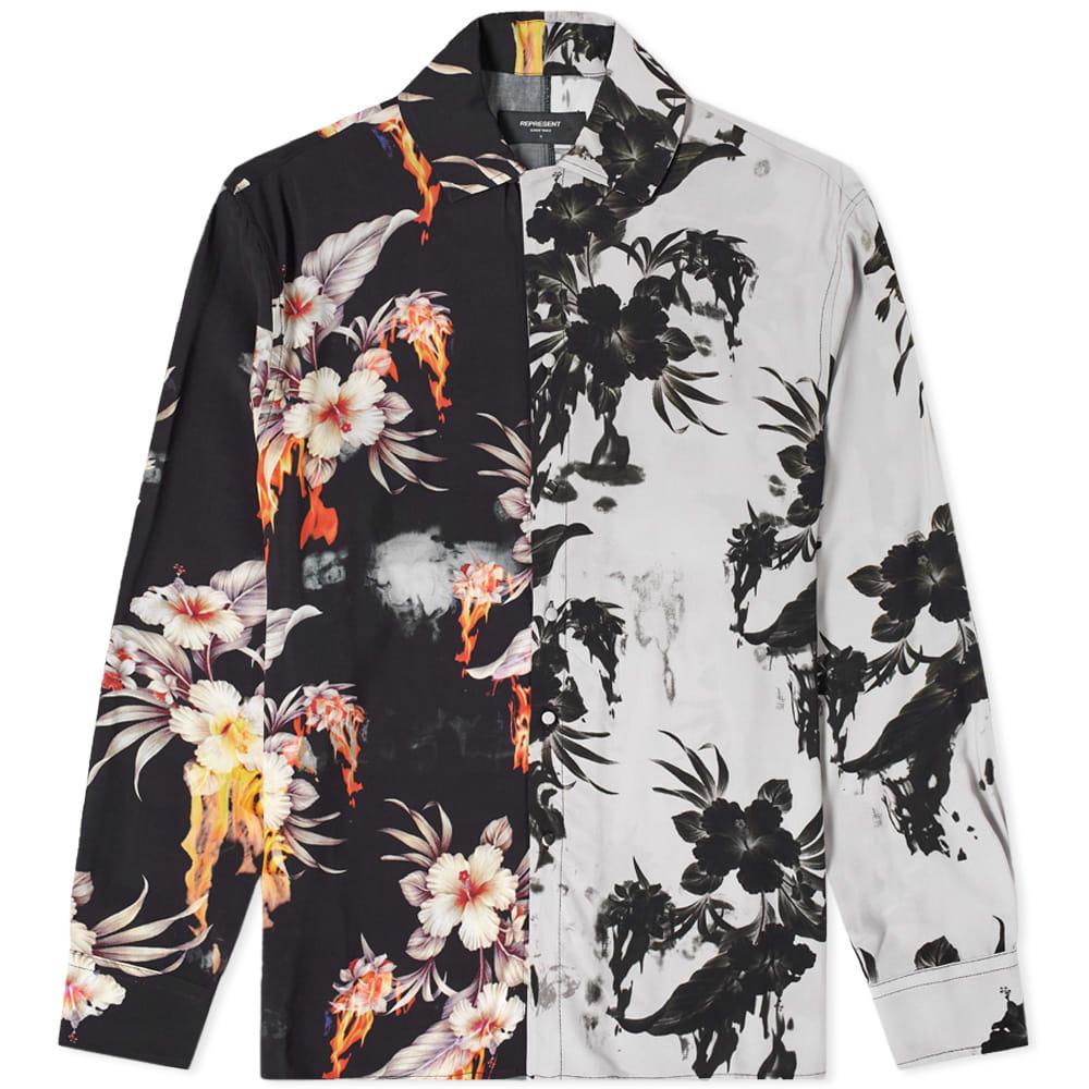 Represent Represent Floral Flame Shirt