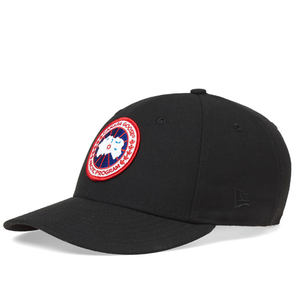 a5cbb73db2aaa Canada Goose New Era Hat Black