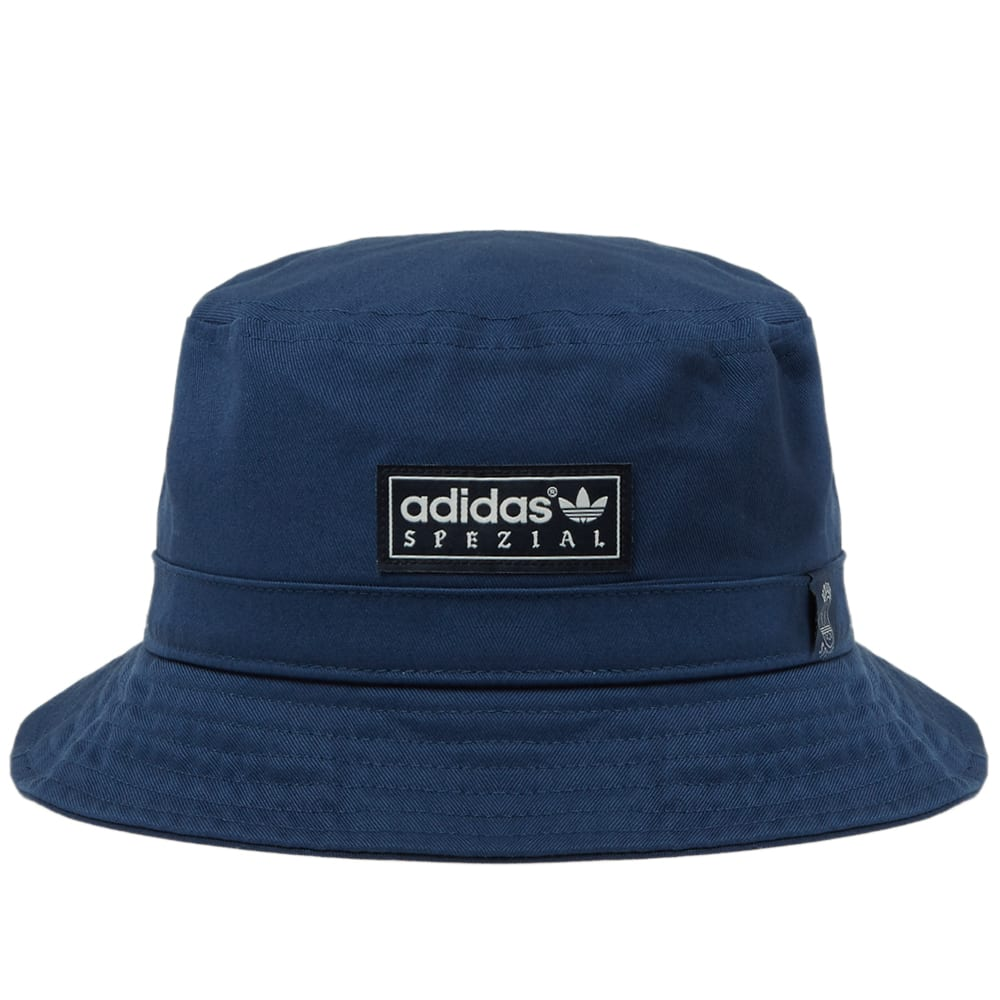 f8c486989ba Adidas Spezial by Union LA Bucket Hat Dark Blue