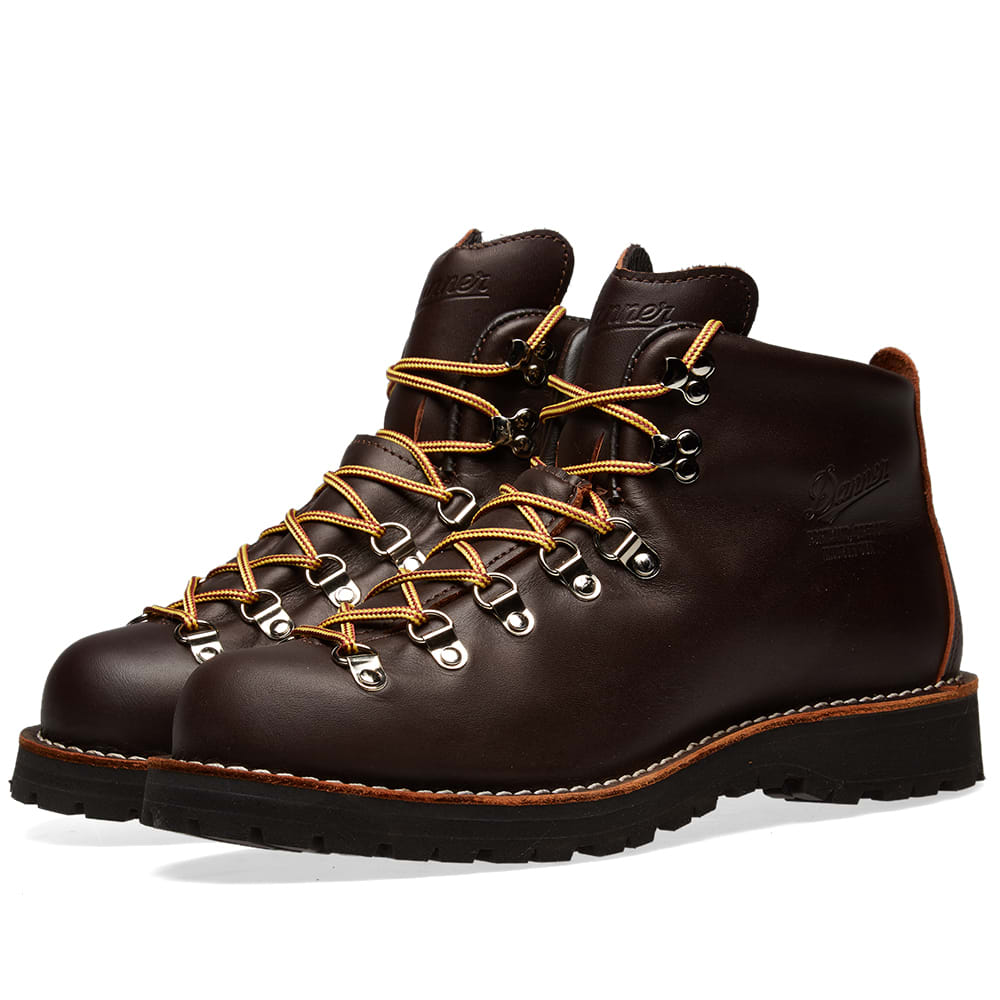 Danner Mountain Light Boot Brown End