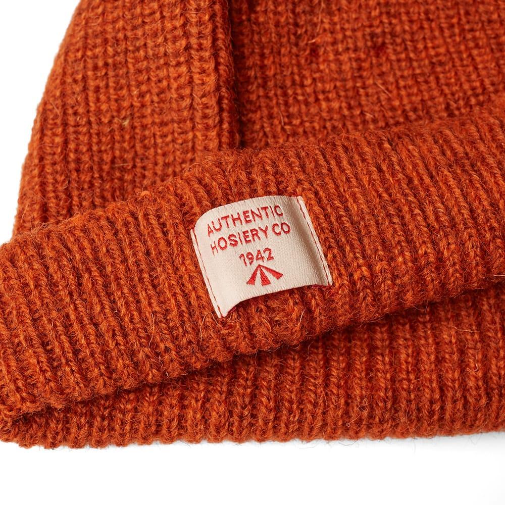 48c735639d73c Nigel Cabourn Plain Beanie Burnt Orange