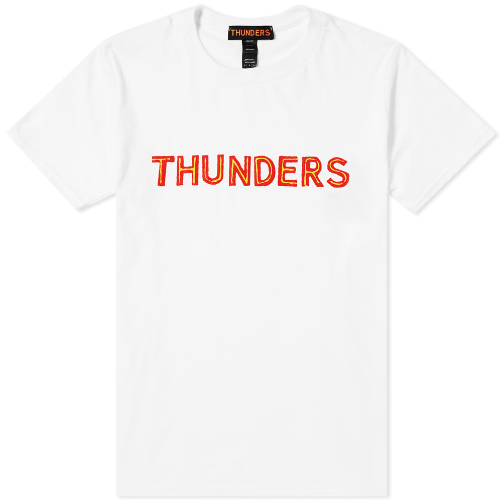 Mr Thunders Core Logo Tee by Mr Thunders