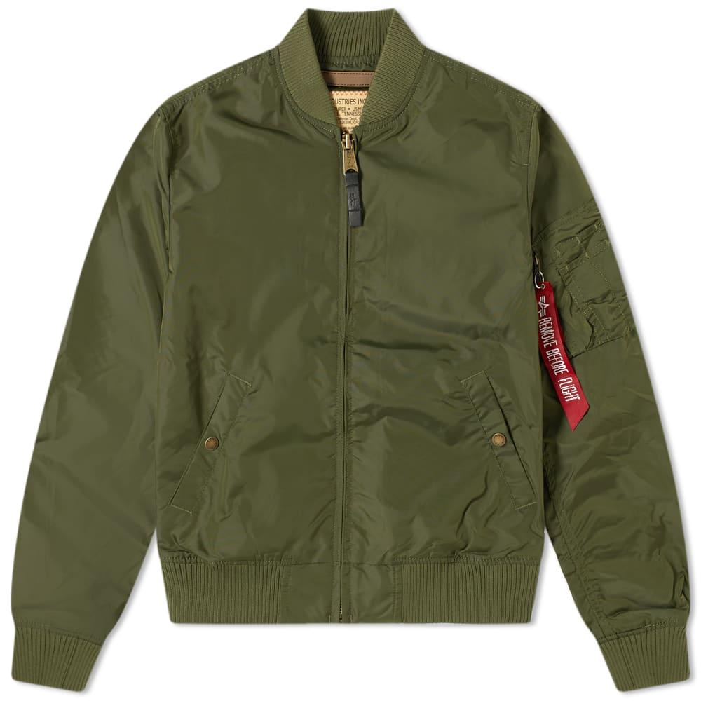 Alpha Industries MA 1 TT Jacket Dark Green
