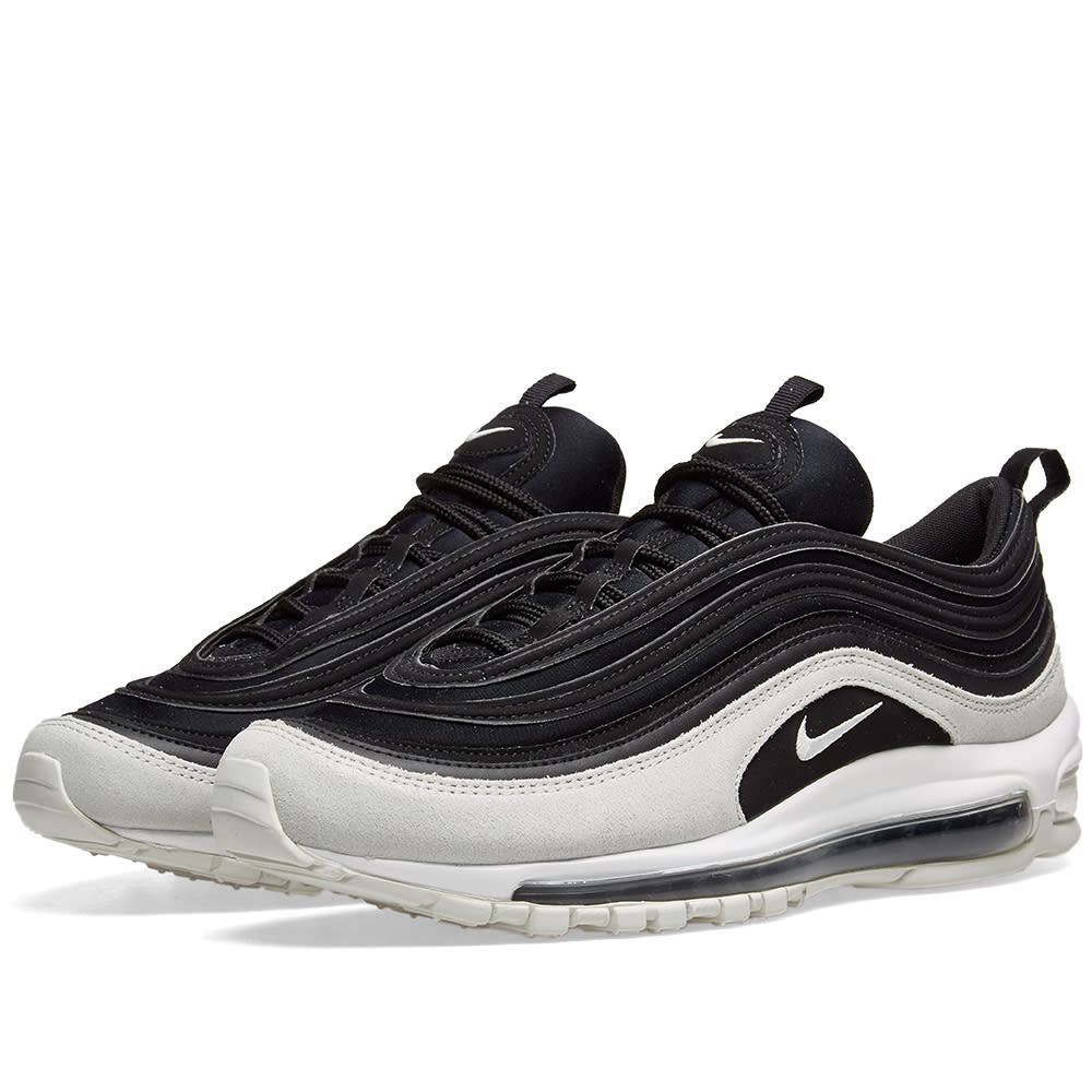 best website c9a77 9b011 Nike Air Max 97 Premium W Black, Spruce Aura   White   END.