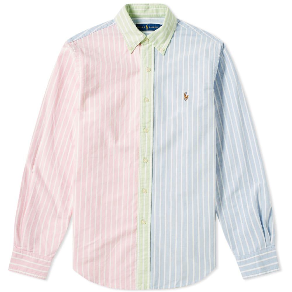 Down Ralph Polo Fun Shirt Oxford Lauren Button Aq5L43Rj