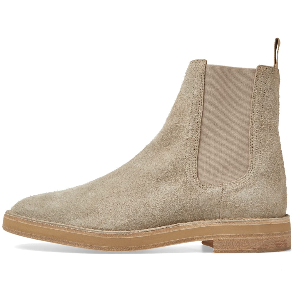 4bf3ad1fbe8 Yeezy Season 6 Suede Chelsea Boot Taupe