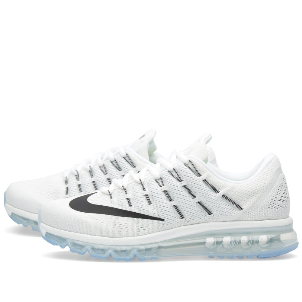 outlet store cfb01 85e5c Nike Air Max 2016 Summit White, Black   White   END.