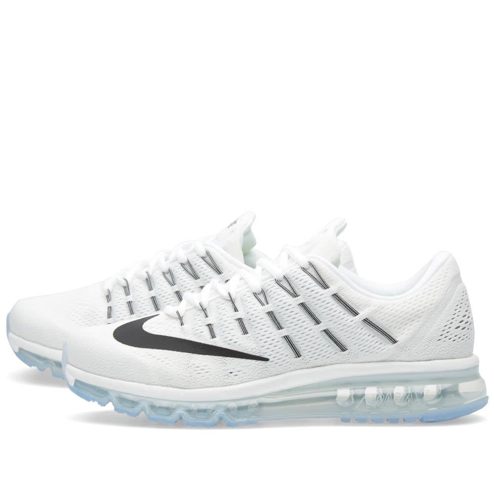 outlet store 92cbb 74fc8 Nike Air Max 2016 Summit White, Black   White   END.
