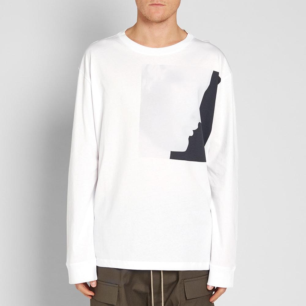 Raf simons x robert mapplethorpe long sleeve ermes tee white for Raf simons robert mapplethorpe shirt