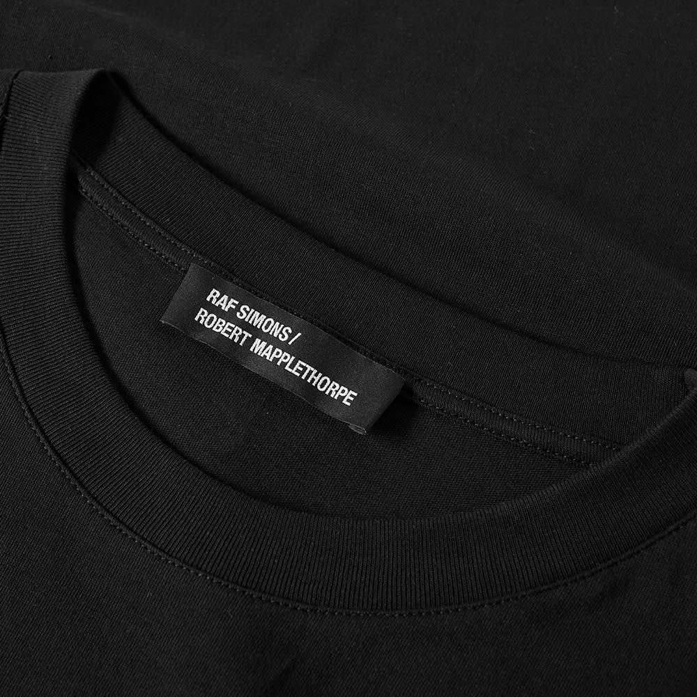 Raf simons x robert mapplethorpe red arrow tee black for Raf simons robert mapplethorpe shirt