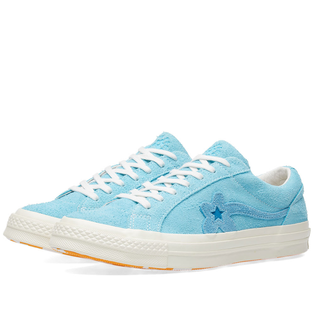 Converse x Golf Le Fleur One Star Bachelor Blue | END.