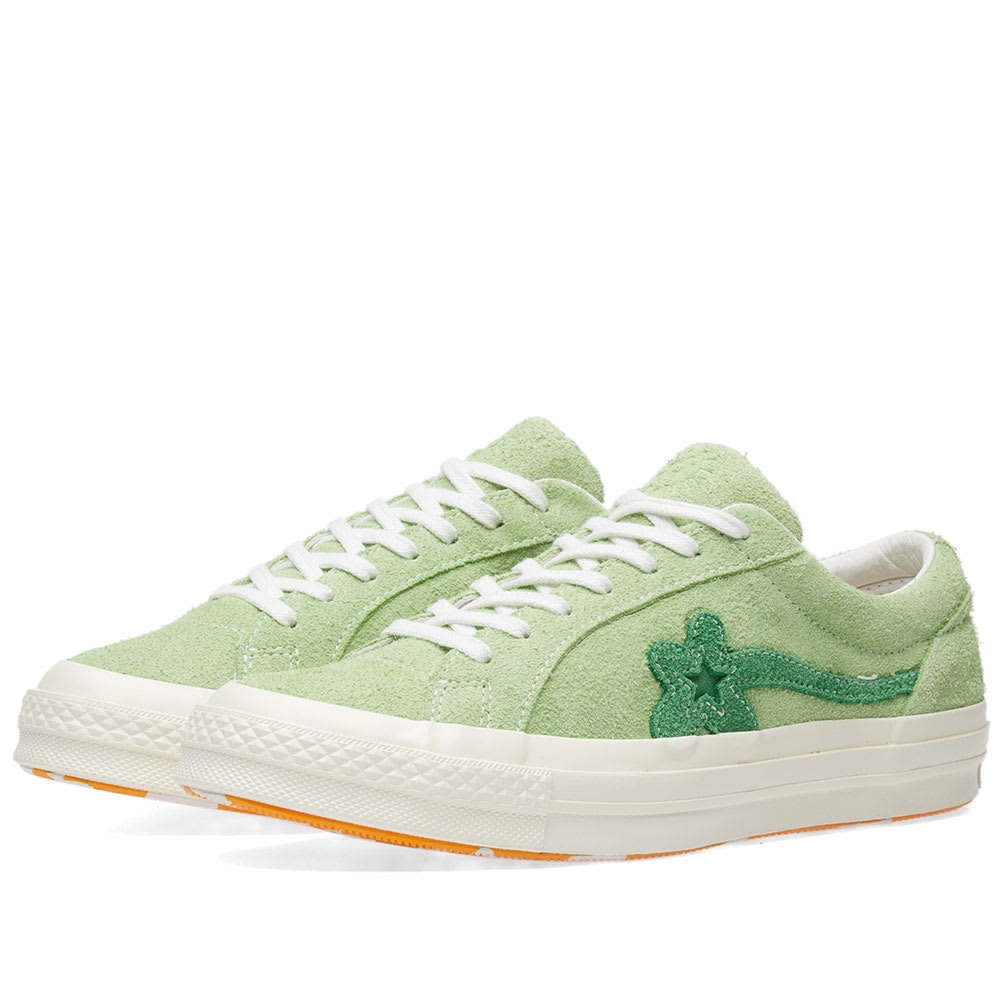 2b0d4449272d Converse x Golf Le Fleur One Star Jade Lime