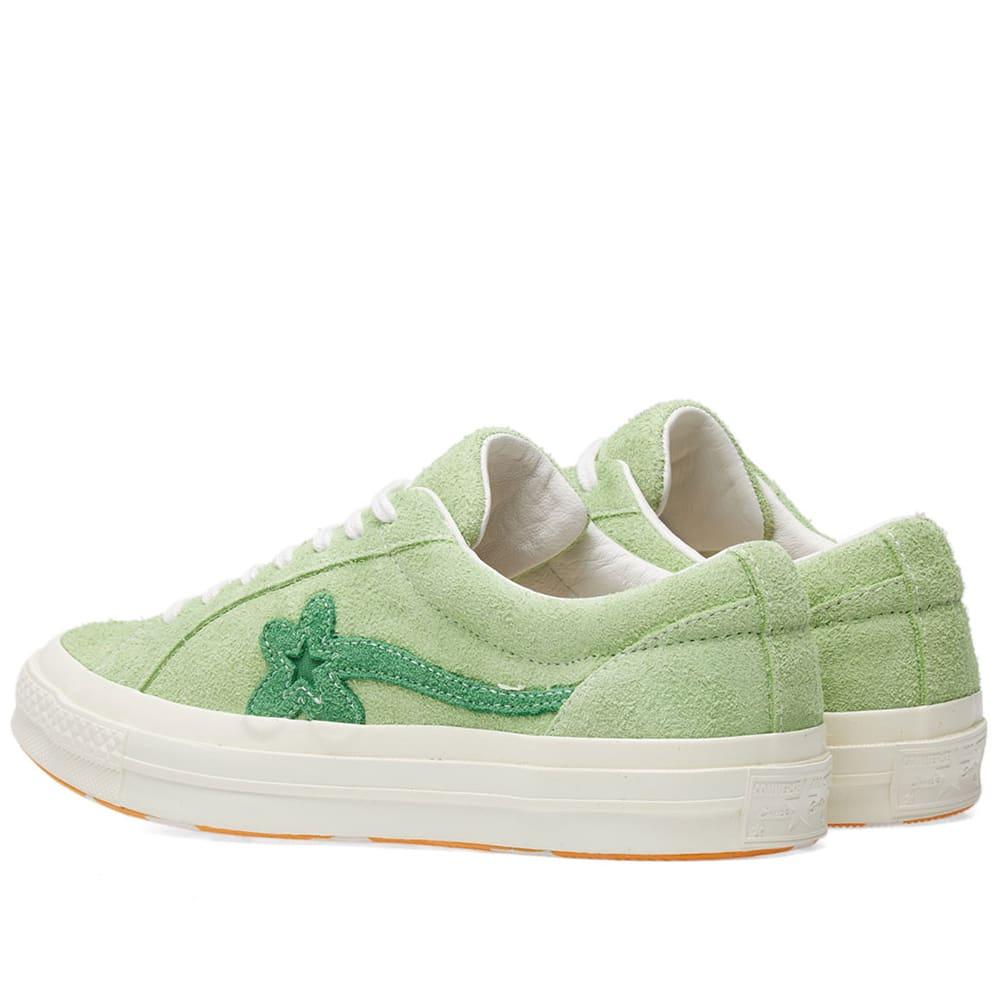991535779095 Converse x Golf Le Fleur One Star Jade Lime