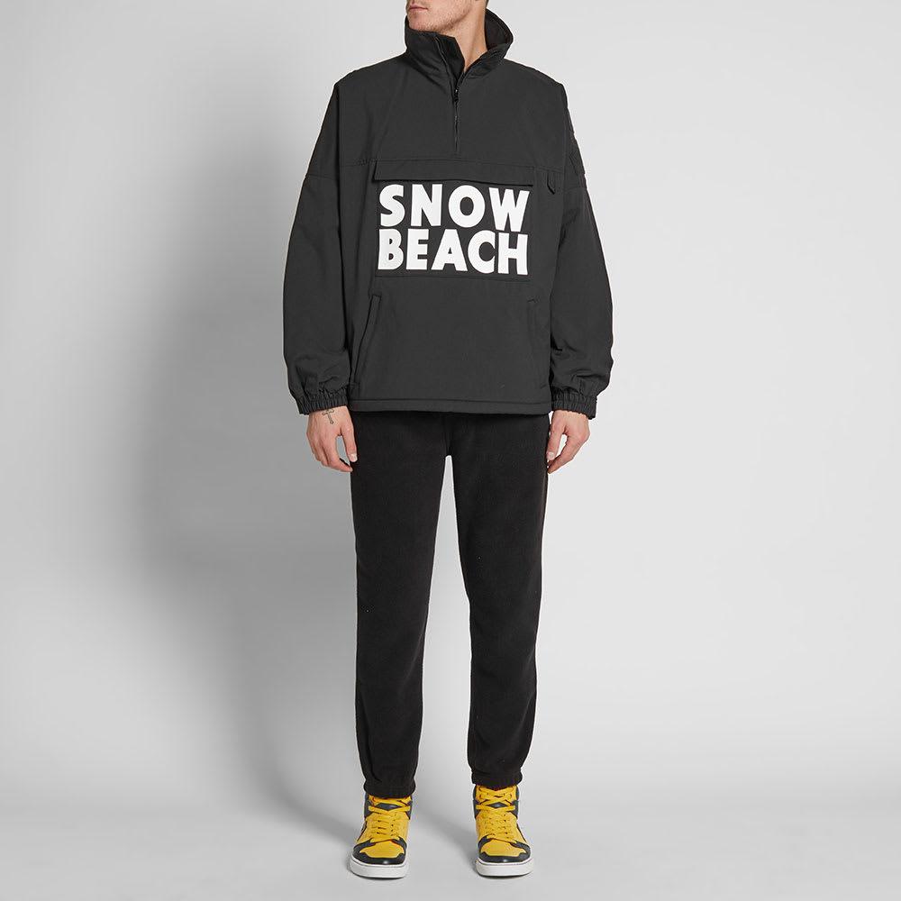 'snow Jacket Ralph Half Lauren Smock Polo Zip Beach' QCxhdBtsro