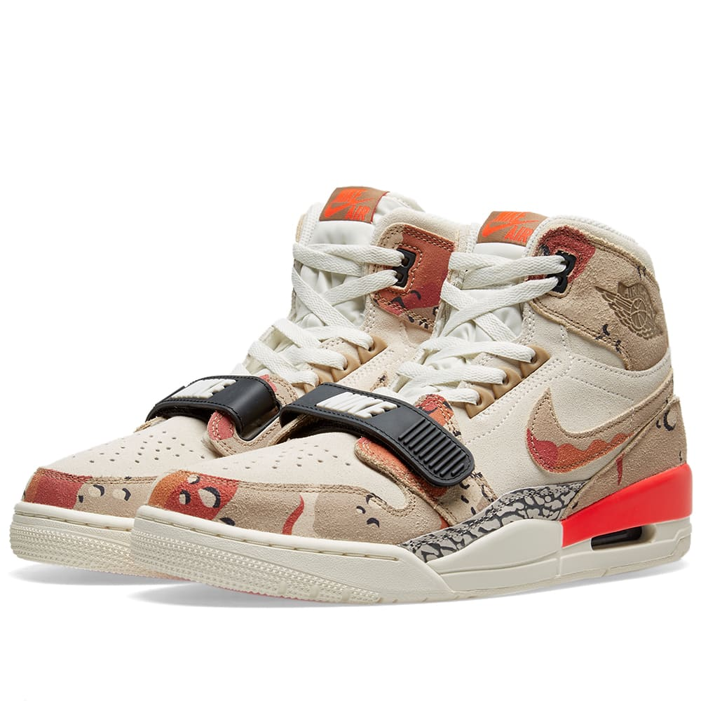 6979d1ca Air Jordan Legacy 312 Sail, Desert Camo & Infrared | END.