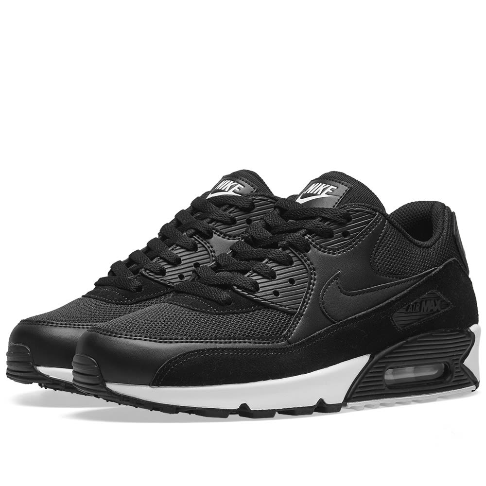 online retailer b55a5 2218d Nike Air Max 90 Essential Black   White   END.