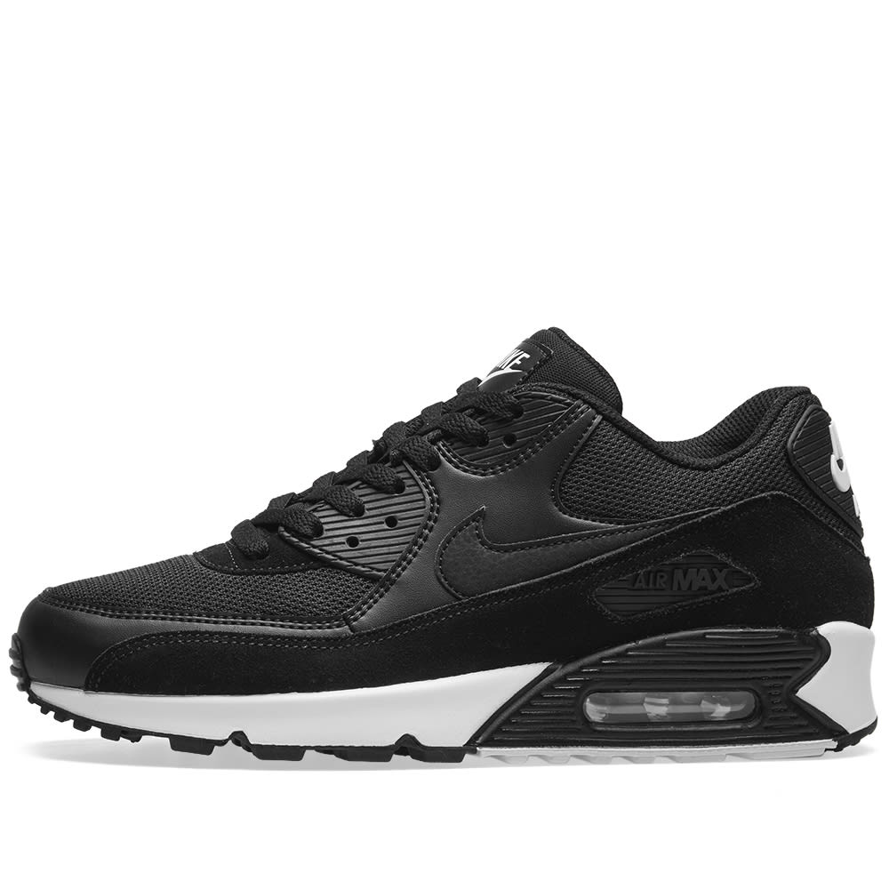 online retailer c3ff2 408f8 Nike Air Max 90 Essential Black   White   END.