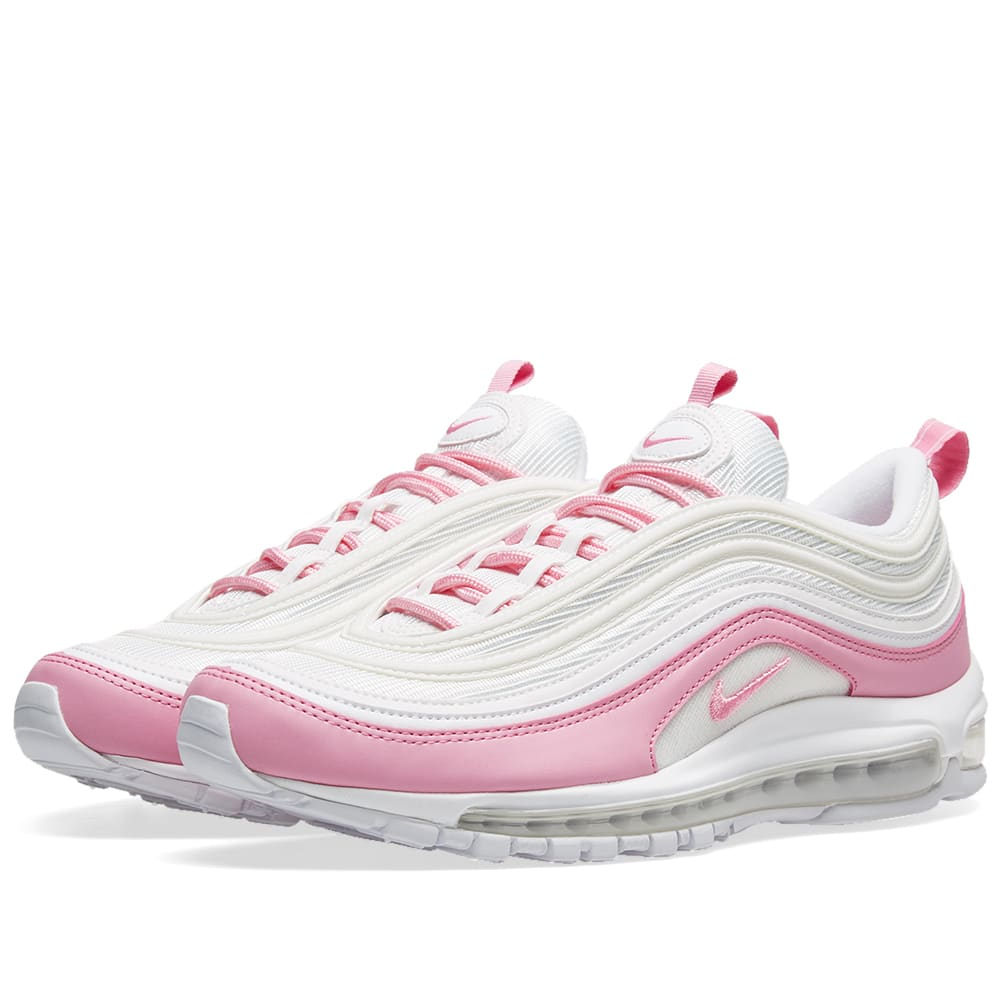 6866fee290b7f8 Nike Air Max 97 Essential W White   Psychic Pink