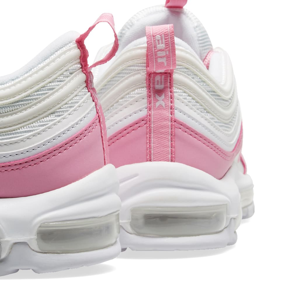 premium selection 91a2d 3d8e1 Nike Air Max 97 Essential W White   Psychic Pink   END.