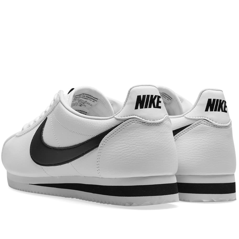c655bf8933cf6 Nike Classic Cortez Leather White   Black