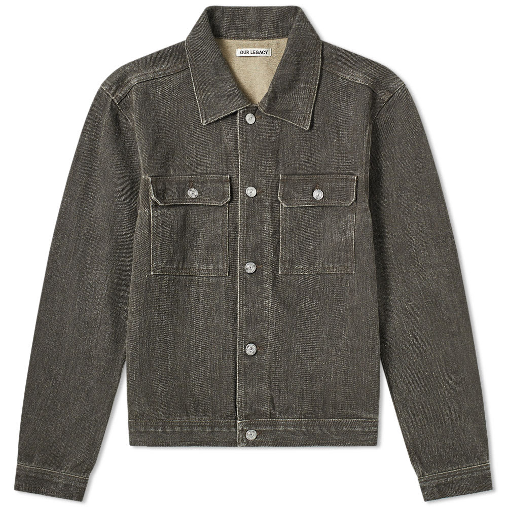 new selection online shop new & pre-owned designer Our Legacy Mono Denim Jacket