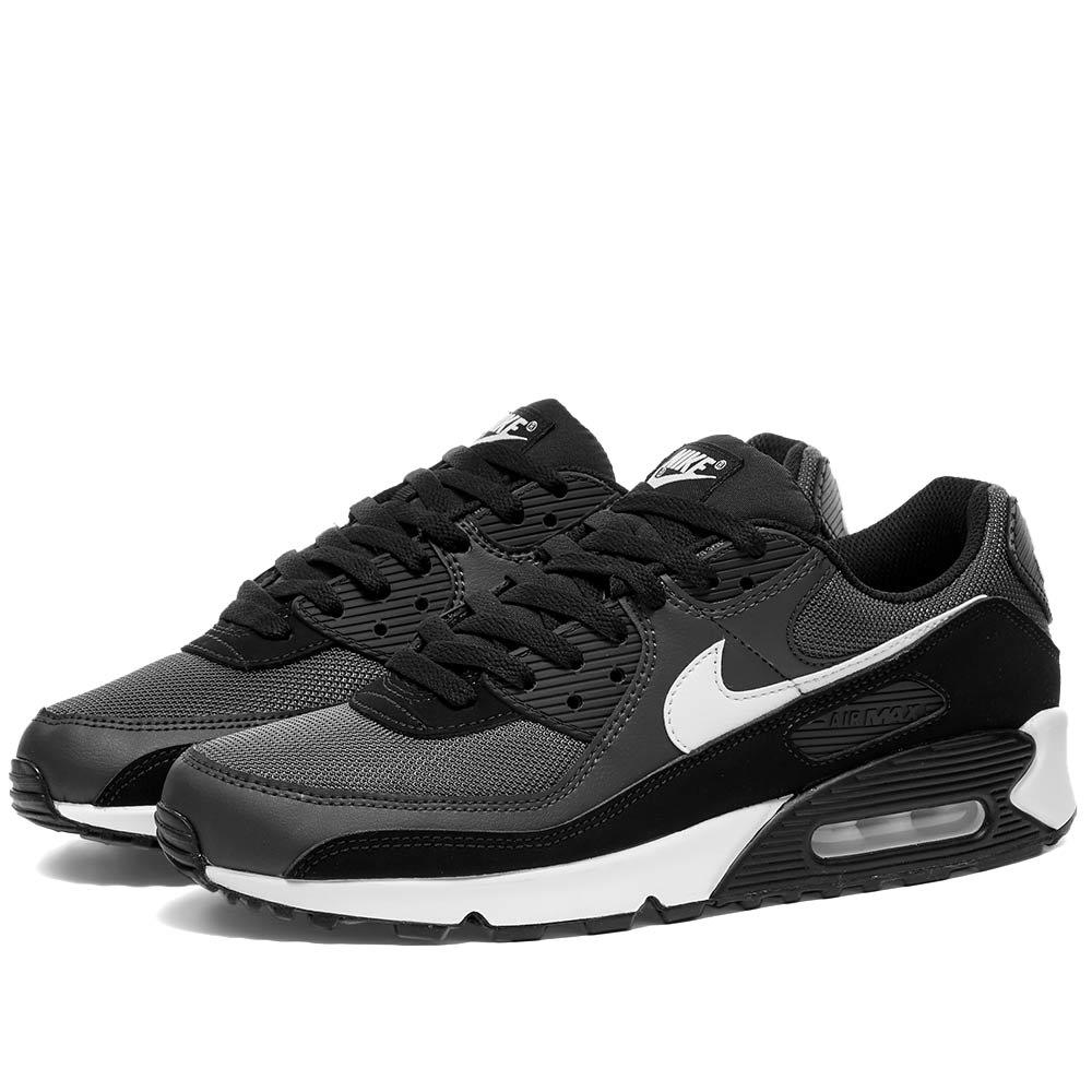 calidad real rico y magnífico venta online Nike Air Max 90 Iron Grey, White & Black | END.