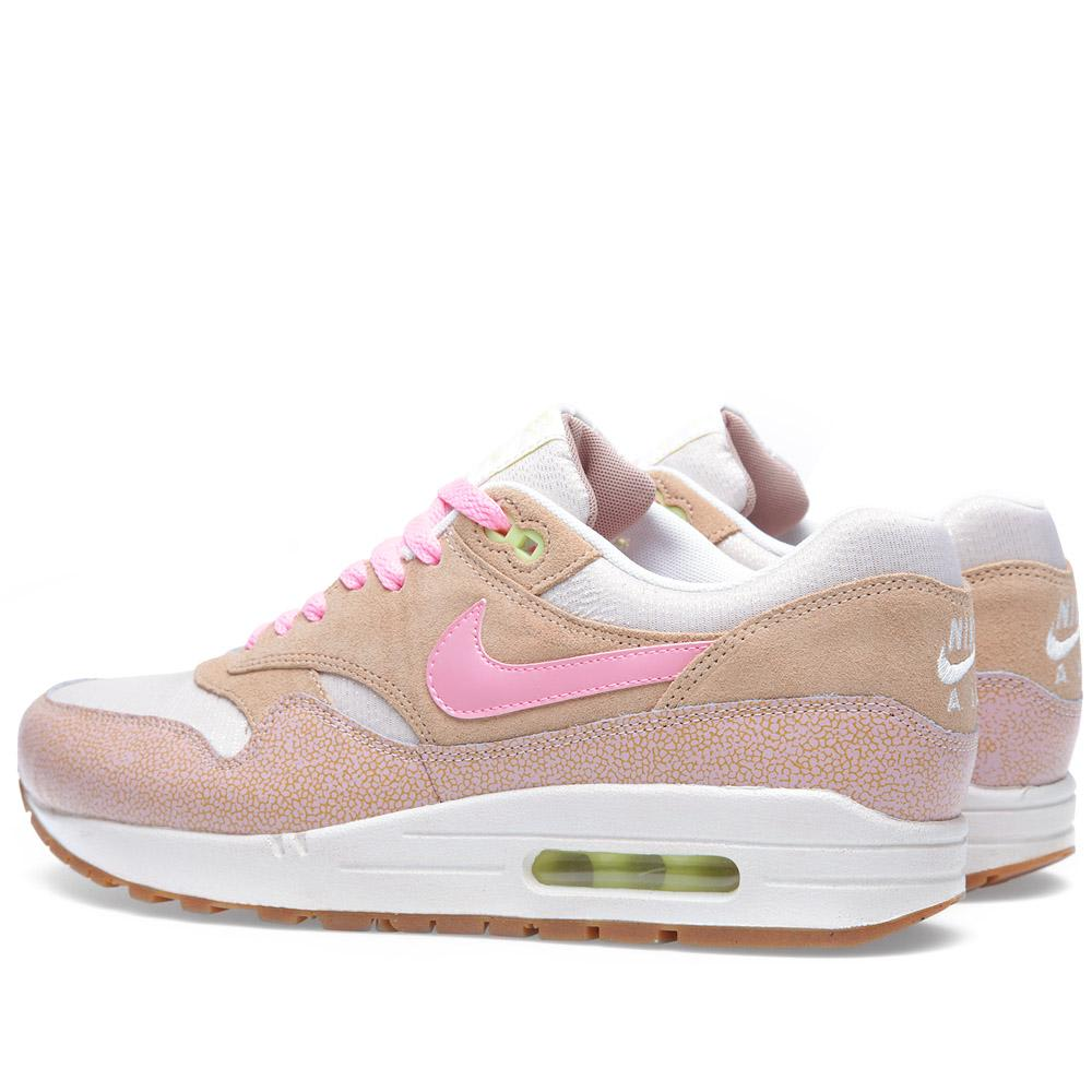 quality design dfef6 a99b9 Nike Air Max 1 PRM Dusted Clay   Polarized Pink   END.
