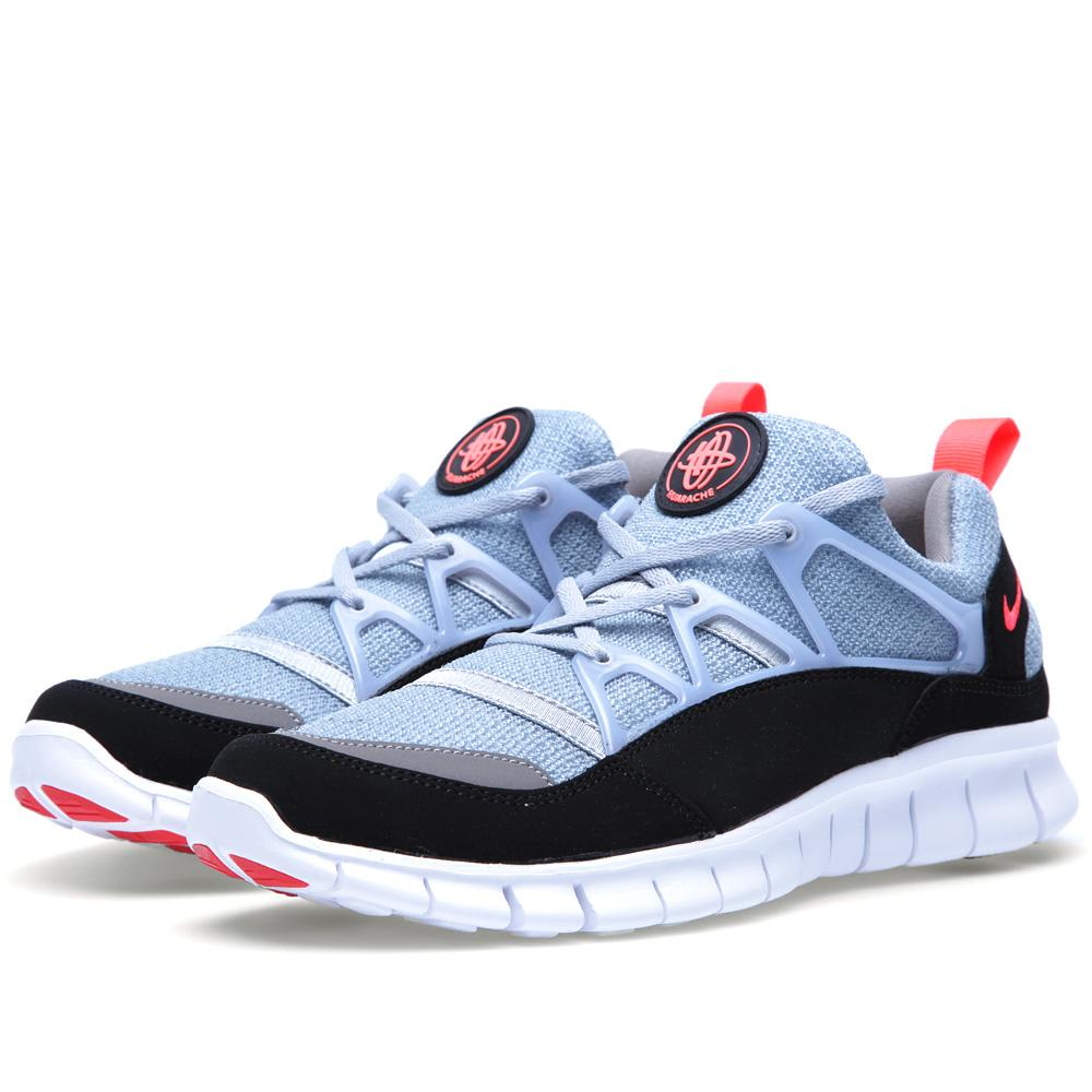 nike free huarache light wolf grey infared. Black Bedroom Furniture Sets. Home Design Ideas