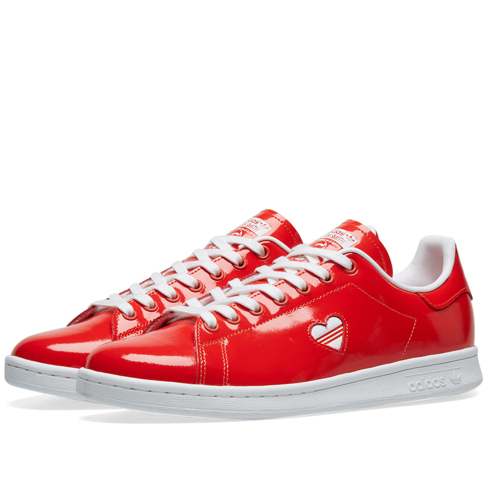 Adidas Stan Smith W Active Red \u0026 White
