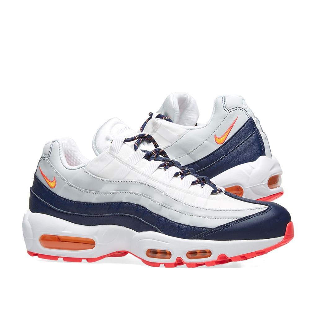 Nike Air Max 95 Navy Orange 307960 405