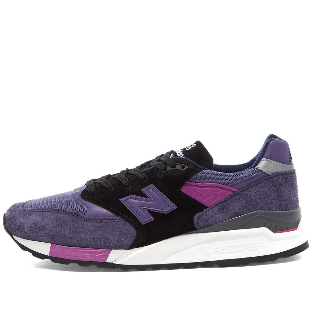 new balance black and purple