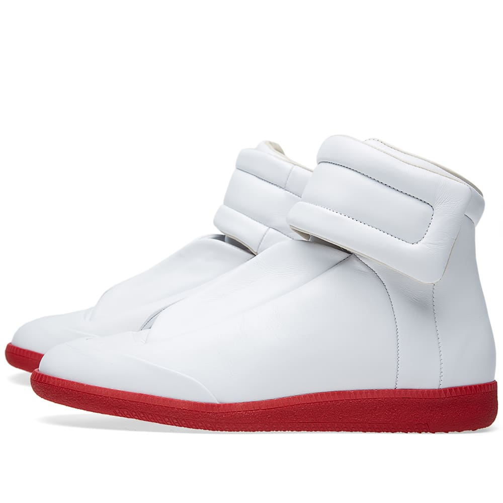 Maison Margiela 22 Red Sole Future Sneaker White