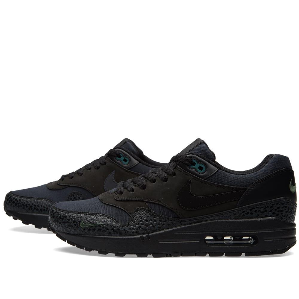 Nike Air Max 1 Premium Black & Bonsai   END.