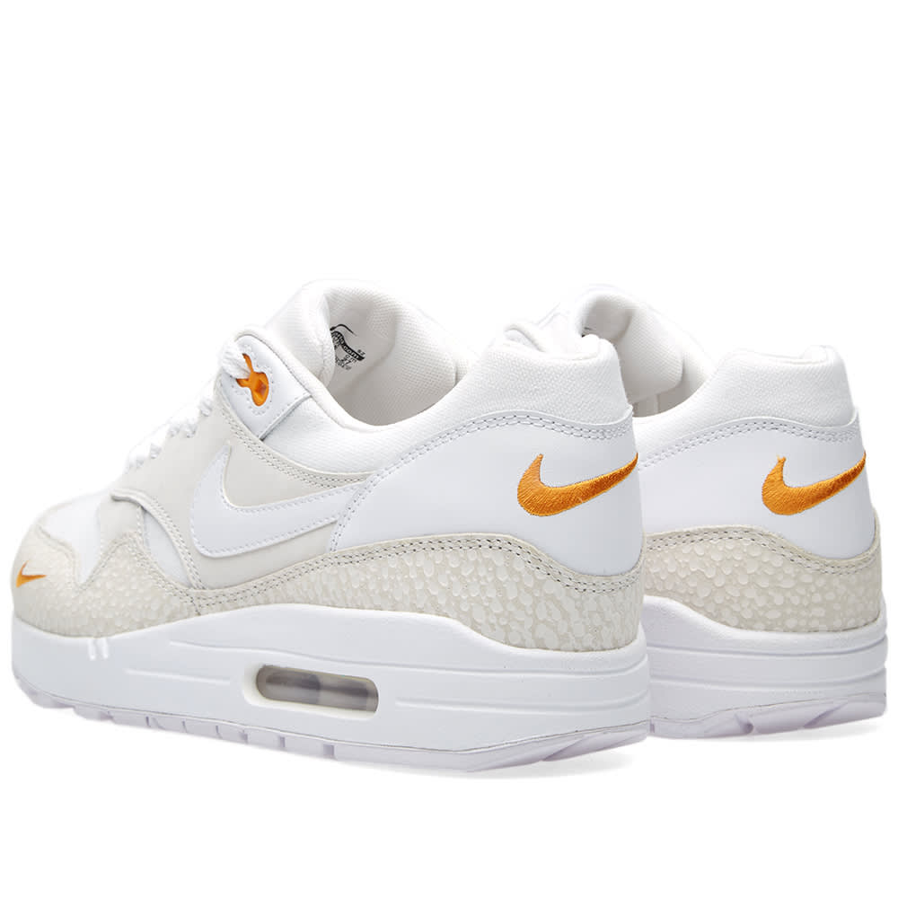 6e904085a5 Nike Air Max 1 Premium White & Kumquat | END.