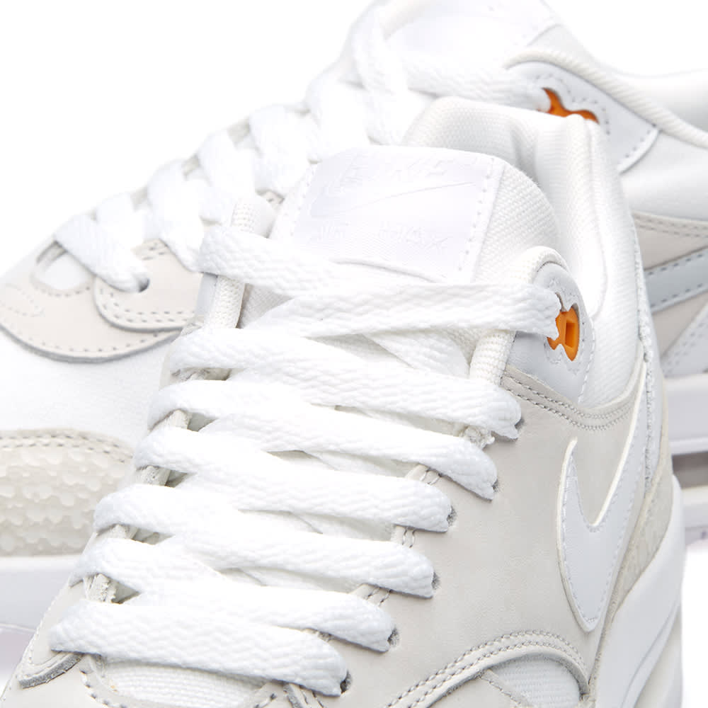 d4401a865f Nike Air Max 1 Premium White & Kumquat | END.