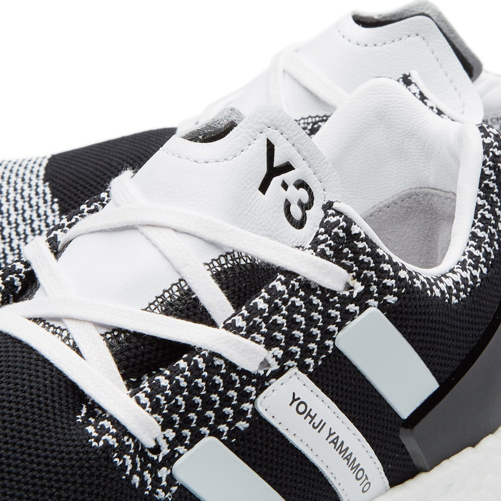 super popular 4ccde bccec Y-3 Pure Boost ZG Knit Black   White   END.