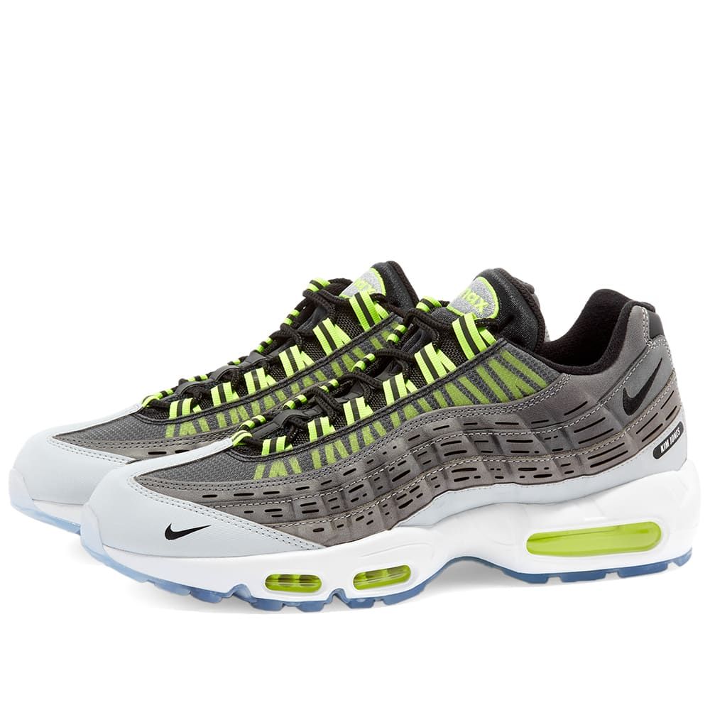 Nike x Kim Jones Air Max 95 Black, Volt & Grey | END.