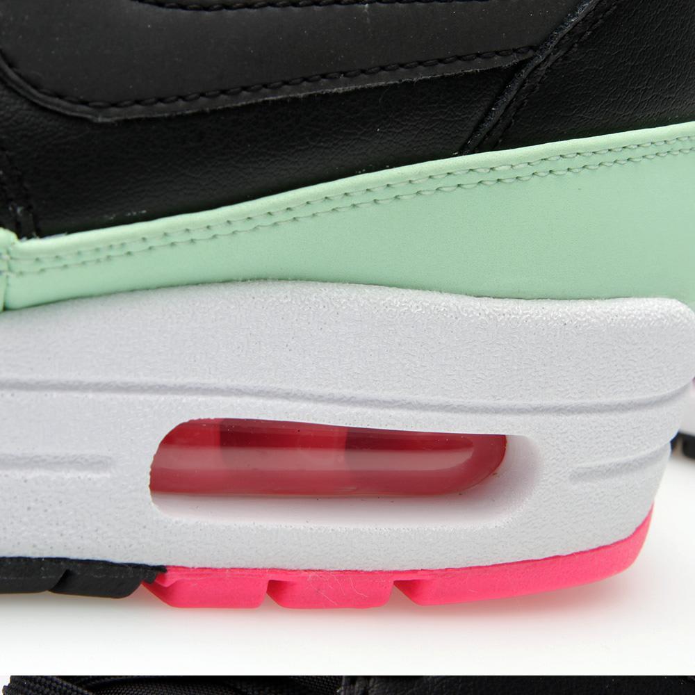 promo code 10dfa f4064 Nike Air Max 1 FB  Yeezy  Black, Fresh Mint   Pink Flash   END.