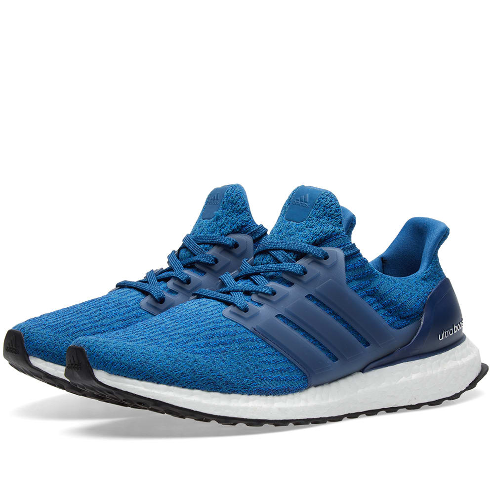 Adidas Ultra Boost 3 0 Core Blue Amp Mystery Blue