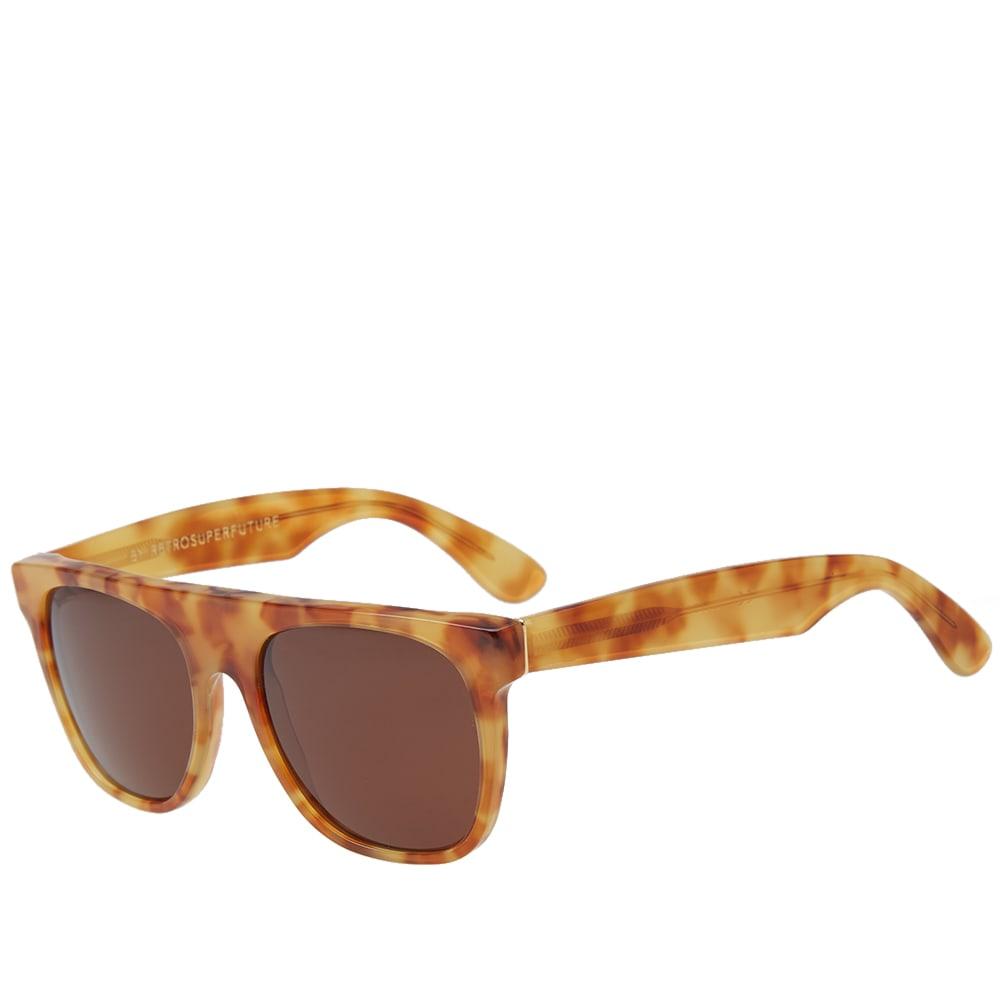 3d229ab341 SUPER by RETROSUPERFUTURE Flat Top Sunglasses Vintage Havana