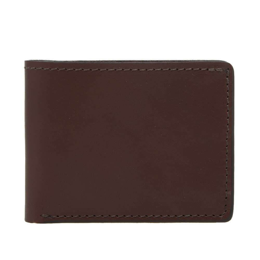 TANNER GOODS Tanner Goods Utility Billfold Wallet in Brown